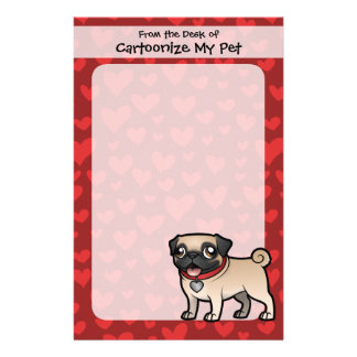 Cartoonize My Pet Personalised Stationery
