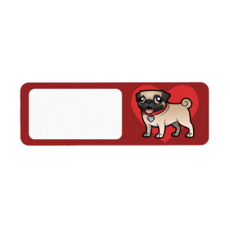 Cartoonize My Pet Return Address Label