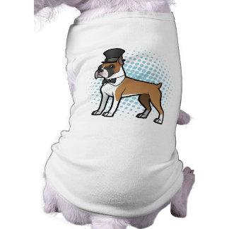 Cartoonize My Pet Sleeveless Dog Shirt