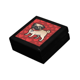 Cartoonize My Pet Small Square Gift Box