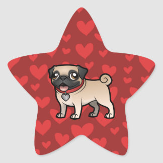 Cartoonize My Pet Star Sticker
