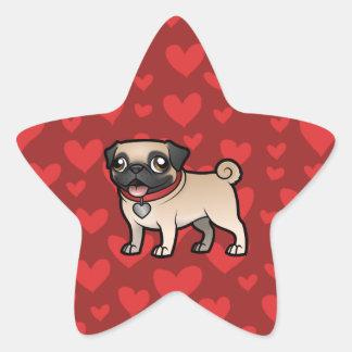 Cartoonize My Pet Star Sticker