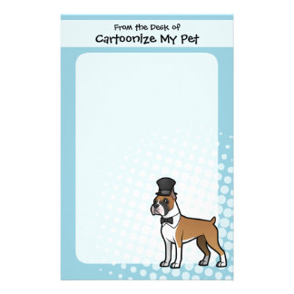 Cartoonize My Pet Stationery