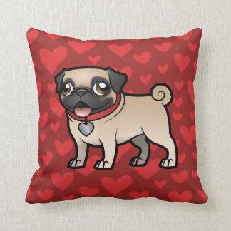 Cartoonize My Pet Throw Pillow