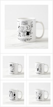 Cartoons on Mugs
