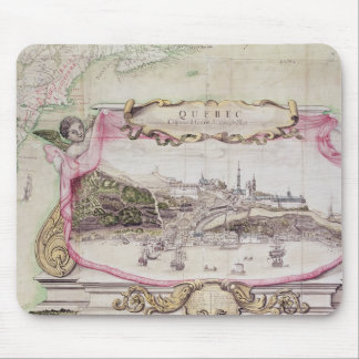 Cartouche of Quebec Mouse Mat