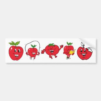 Cartton kids objects 25, Cartton kids objects 2... Bumper Sticker