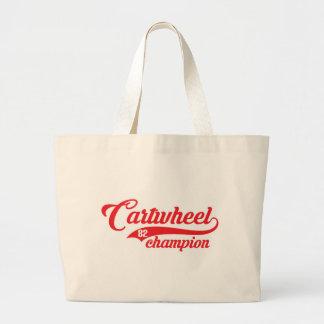 Cartwheel Champion Jumbo Tote Bag