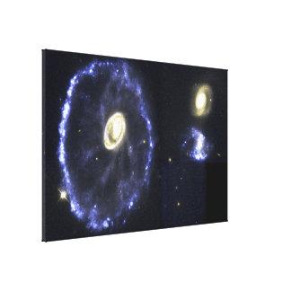 Cartwheel Galaxy Gallery Wrap Canvas