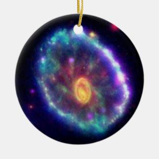 Cartwheel Galaxy Christmas Ornament