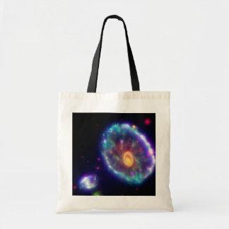 Cartwheel Galaxy Shopper Tote Bag
