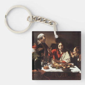 Carvaggio Art Work Single-Sided Square Acrylic Key Ring