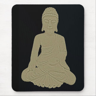 Carved Buddha Mouse Pad