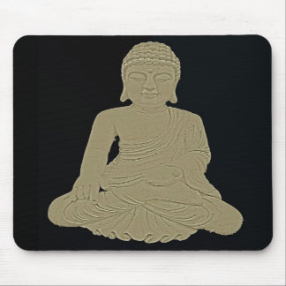 Carved Buddha Mouse Pads