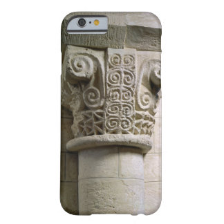 Carved column decorated with croziers and spirals barely there iPhone 6 case