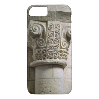 Carved column decorated with croziers and spirals iPhone 7 case