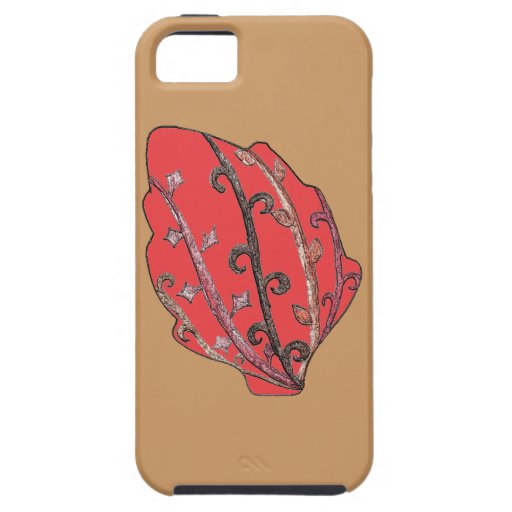 Carved Detail Autumn Leaf iPhone 5/5S Covers