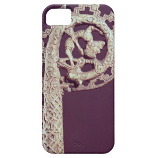 Carved handle of a bishop's crook, bone barely there iPhone 5 case