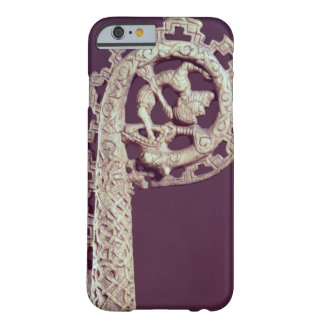 Carved handle of a bishop's crook, bone barely there iPhone 6 case