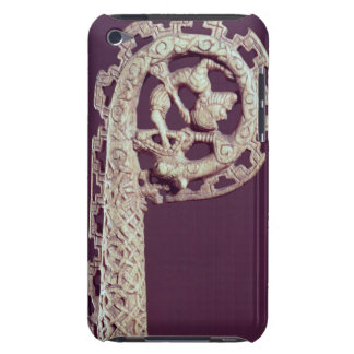 Carved handle of a bishop's crook, bone barely there iPod covers