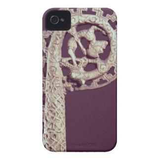 Carved handle of a bishop's crook, bone iPhone 4 Case-Mate case