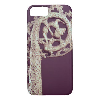 Carved handle of a bishop's crook, bone iPhone 8/7 case