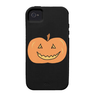 Carved Happy Pumpkin. Halloween. Case-Mate iPhone 4 Cases