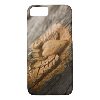 Carved Heart with Wings iPhone 7 Case