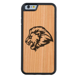 Carved ® iPhone 6 Bumper Wood Case with lion