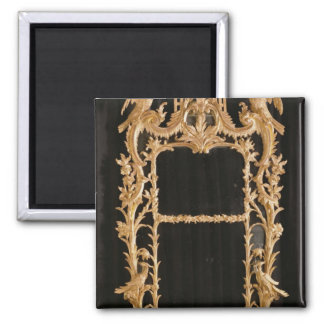 Carved mirror, c.1760 square magnet