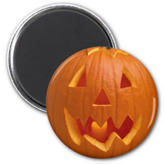 Carved Pumpkin Halloween Magnet