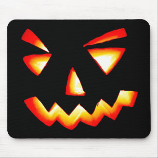 Carved Pumpkin Mouse Pad