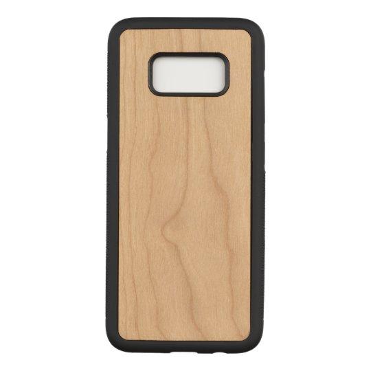 Samsung Galaxy S8 Slim Cherry Wood Case