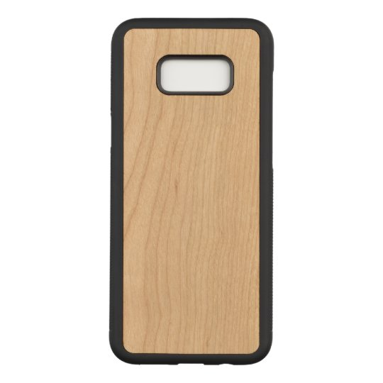 Samsung Galaxy S8+ Slim Cherry Wood Case