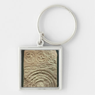 Carved Stele Keychains