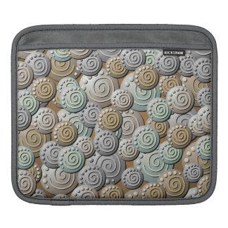 Carved Stones Pattern iPad Sleeve