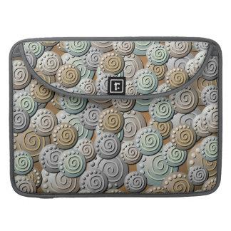 Carved Stones Pattern Macbook Sleeve