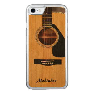 Carved Wood Blond Acoustic Guitar iPhone 6 Carved iPhone 8/7 Case