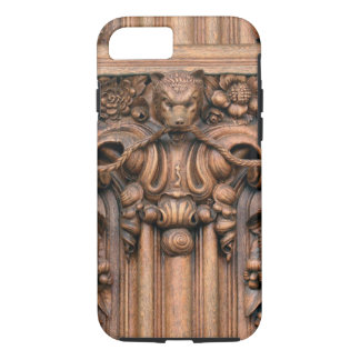 Carved Wood iPhone 7 Tough Case
