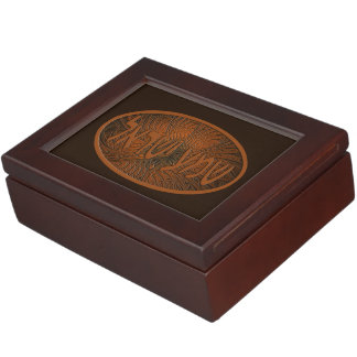 Carved Wood Shema Yisrael Memory Boxes