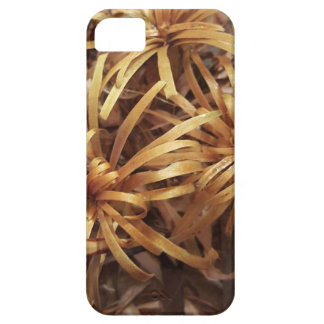 carved wooden flowers iPhone 5 cover