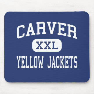 Carver - Yellow Jackets - High - Winston Salem Mouse Pads