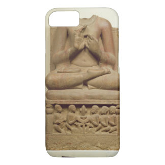 Carving of Buddha in the attitude of preaching a s iPhone 8/7 Case