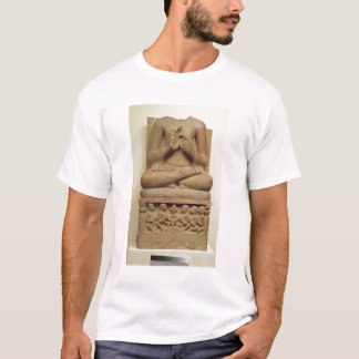 Carving of Buddha in the attitude of preaching a s T-Shirt