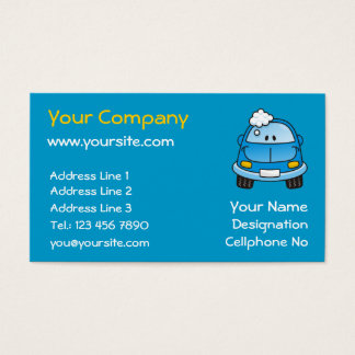 Carwash Business Card