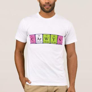 Carwyn periodic table name shirt