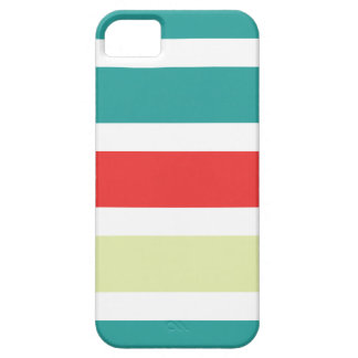 cas de l'iPhone 5 avec les rayures colorées iPhone 5 Covers