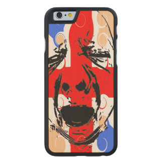 CASA BABY CARVED® MAPLE iPhone 6 SLIM CASE