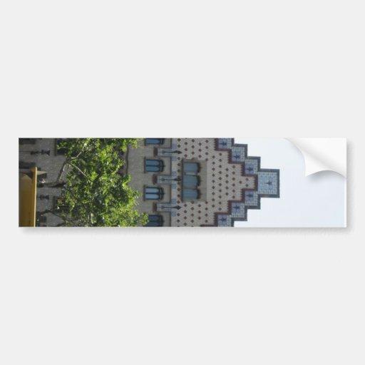 Casa balto1 car bumper sticker zazzle - Apartamentos dv barcelona ...