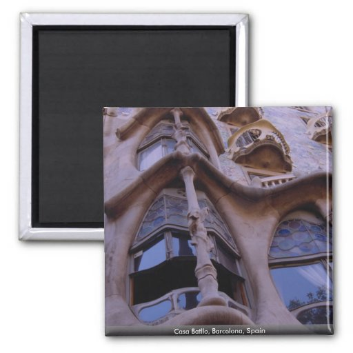 Casa Batllo, Barcelona, Spain Fridge Magnet